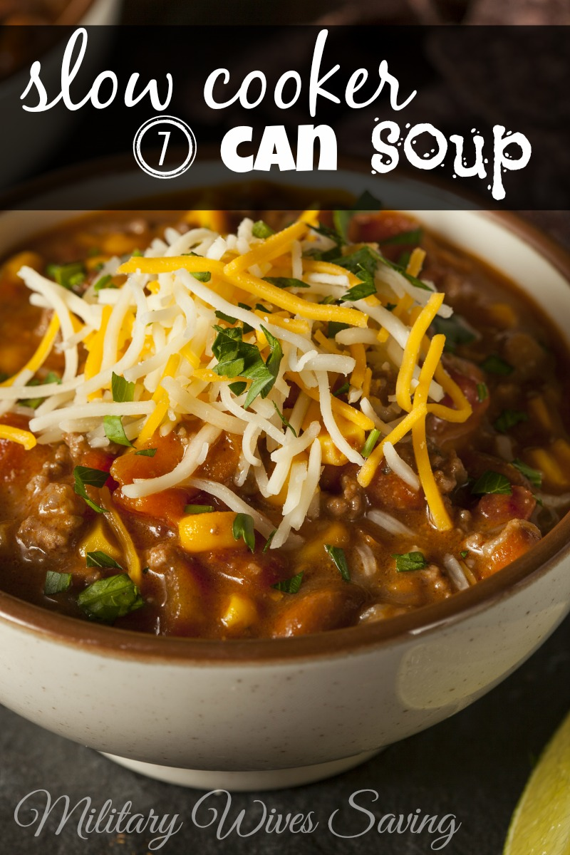 Slow Cooker 7 Can Soup Recipe