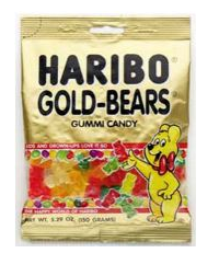 Commissary, Military Exchange, and Walmart Deals - Haribo Gummy Bears as low as $0.67