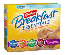 Commissary Deals for Carnation Breakfast Essentials ONLY $2.22 with Coupons!
