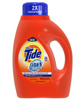 Tide Laundry Detergent and Dawn ONLY $1.53 each at CVS (starts 1/13)!