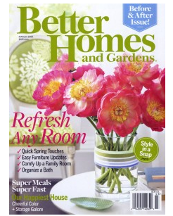 FREE 1-year Subscription to Better Homes & Gardens Magazine!