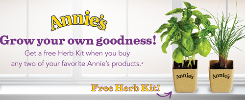 Annie's Homegrown Free Herb Kits