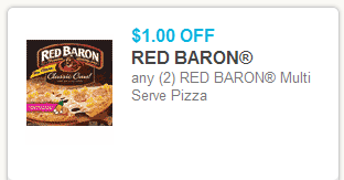 Red Baron Pizza Coupons and Deals