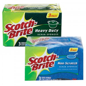 Scotch-Brite Scrub Sponges Coupons and Deals