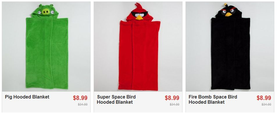 Angry Bird Towels