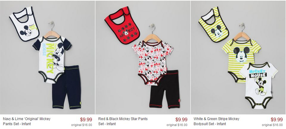 Dsiney Mickey Mouse Onesies