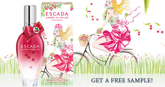 Escada Cherry in the Air Free Sample