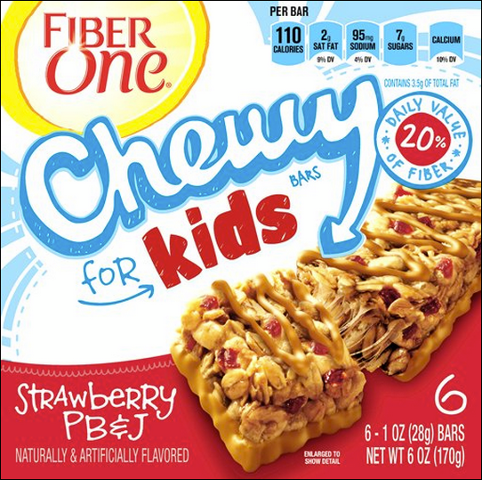 Free Fiber One Chewy for Kids Samples