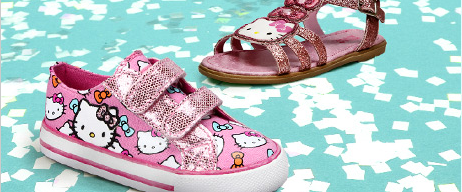 Hello Kitty Girls Toddler Shoes
