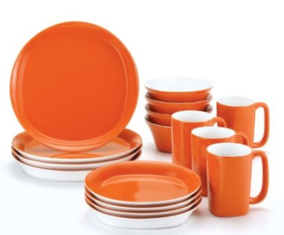 Rachael Ray 16 piece Dinnerware Set Deals