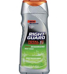 Right Guard Body Wash Coupons and Deals