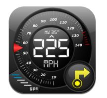 Speedometer+ G12 (Car speedometer, Bike cyclometer) for iPhone 3GS, iPhone 4, iPhone 4S, iPhone 5, iPod touch (3rd generation), iPod touch (4th generation), iPod touch (5th gen)