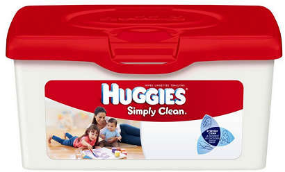huggies simply clean