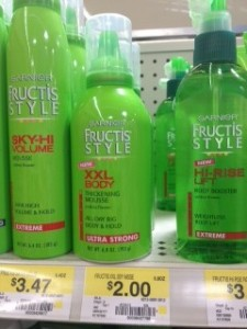 Garnier Fructis Coupons and Deals