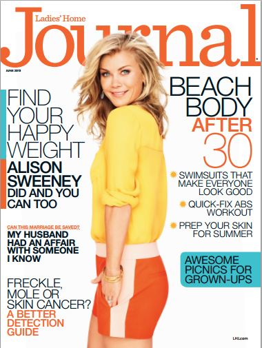 Free Ladies Home Journal Allison Sweeney