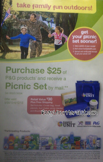 Commissary Deals Free Picnic Set