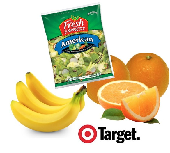 Free Fruits and Vegetables at Target with Coupon