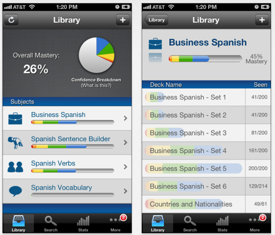 Free Spanish App by Brainscape