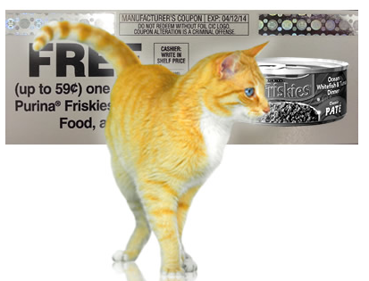 Friskies Cat Food Coupons