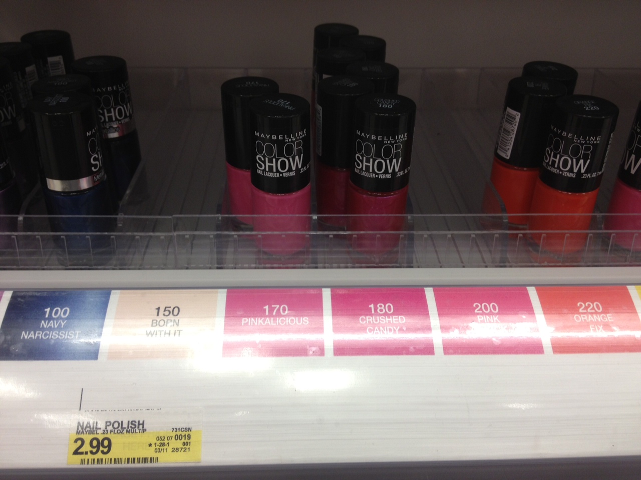 Maybelline Color Show Nail Polish Coupons