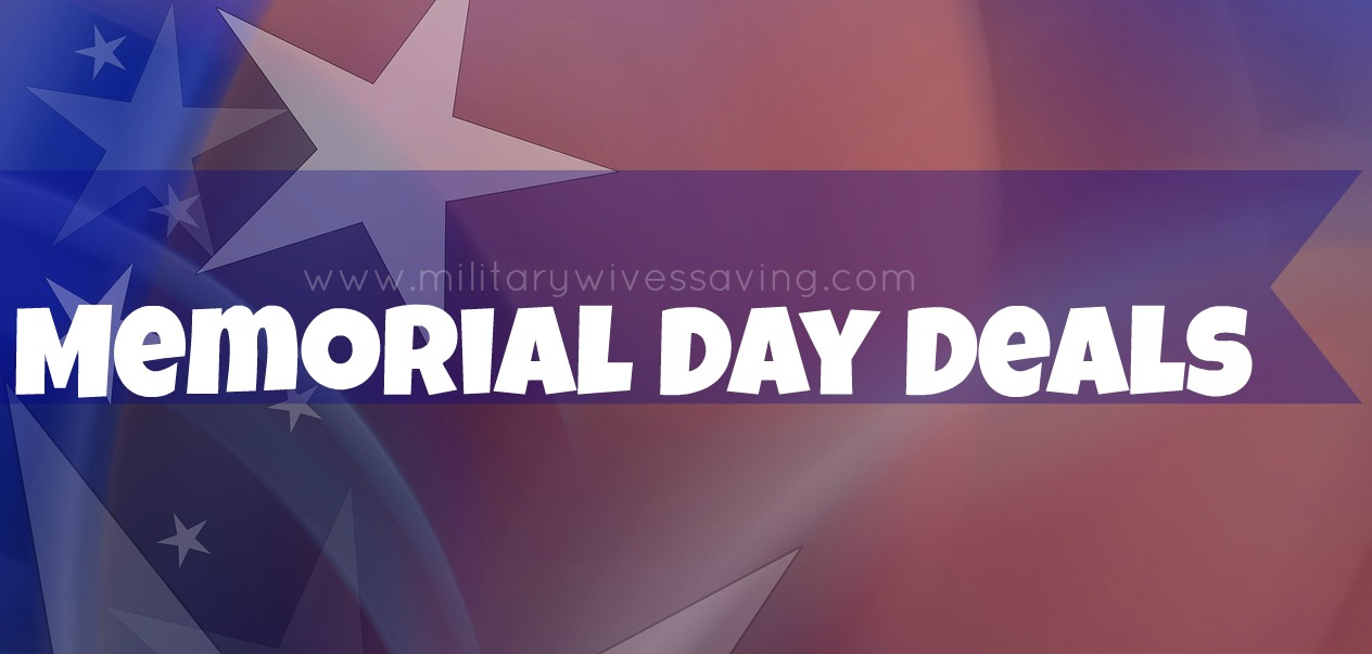 Memorial Day Freebies Discount Deals and Coupons