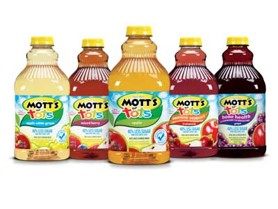 Mott's for Tots Juice Coupons