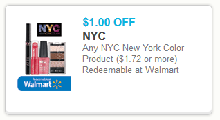 NYC Cosmetics Free Samples and Coupons