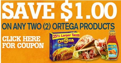 Ortega Coupons and Deals