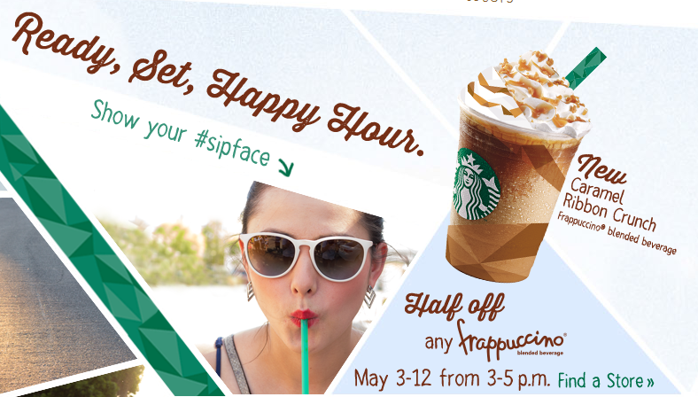 Starbucks Coffee Deals Coupons and Freebies