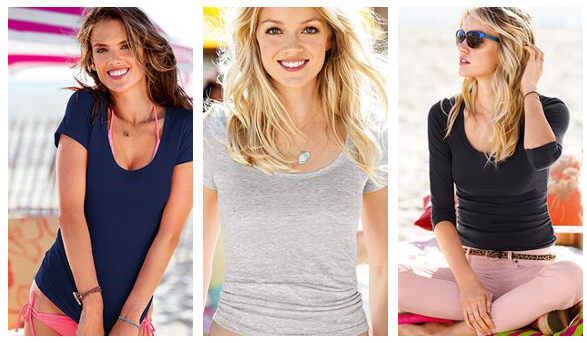 Victoria's Secret Big Tee Event Sale May 20 through 23