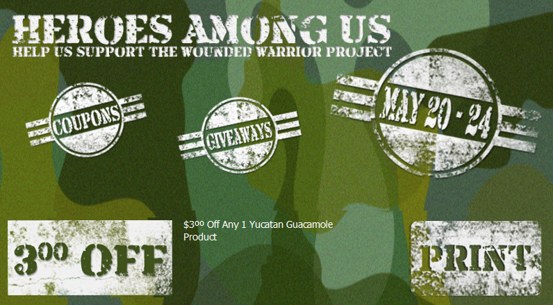 Yucatan Coupon and Wounded Warrior Project