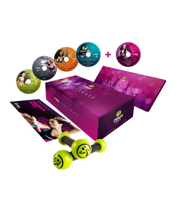 Zumba Exhilerate Body Shaping System DVD Set