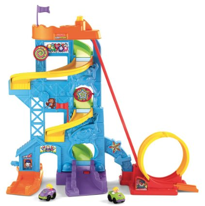 Fisher-Price Little People Wheelies Amusement Park Toy