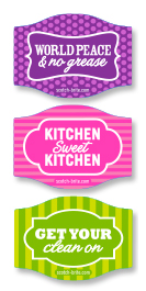 Scotch-Brite Magnet Set Freebie