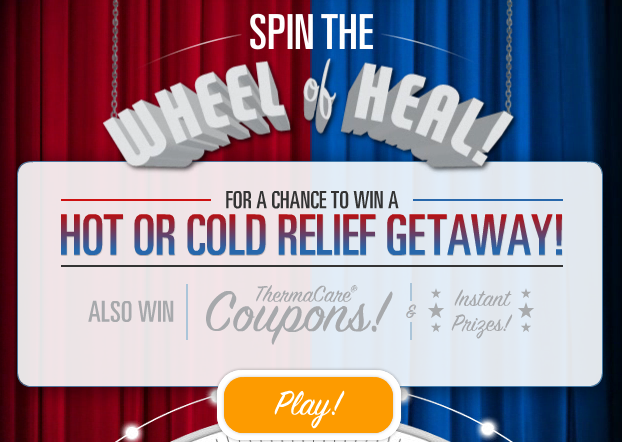 ThermaCare Wheel of Heal Sweepstakes