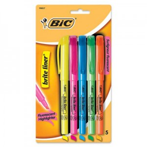 BiC Highlighters Free with Coupons