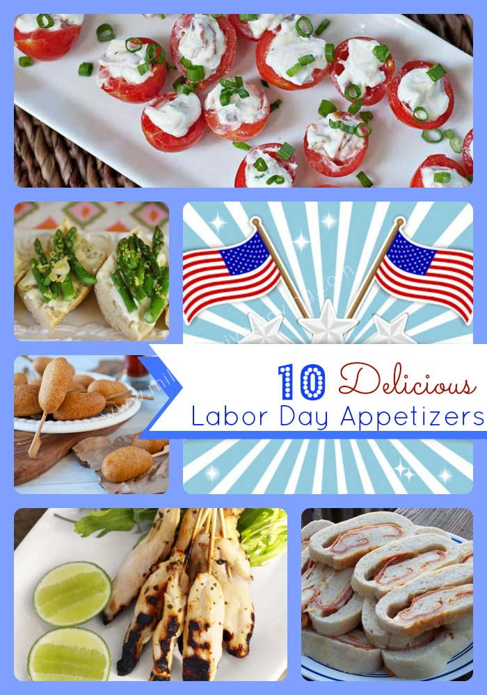 Delicious Labor Day Appetizers Recipes