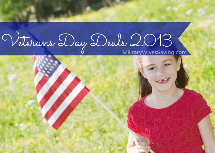Veterans Day Deals Freebies 2013
