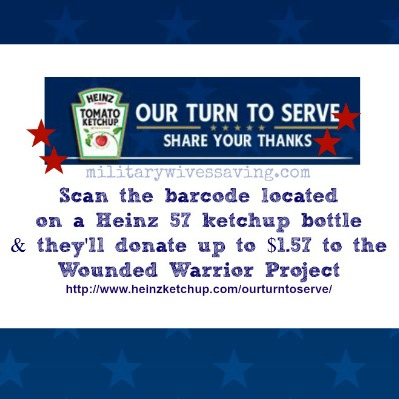 heinz 57 military thank you