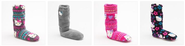 hello kitty slippers deals