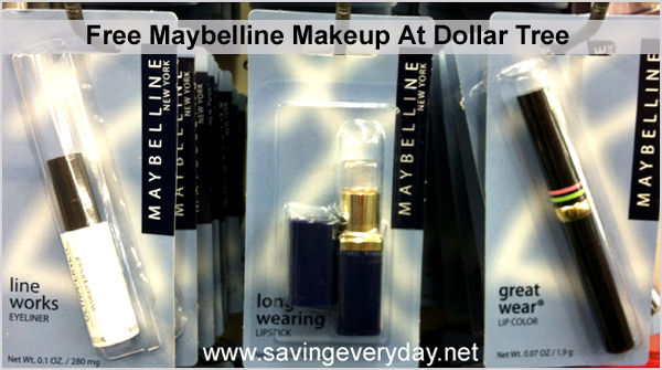 free maybelline at dollar tree