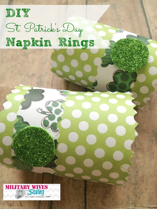 DIY St. Patrick's Day Crafts Napkins