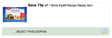 Birds Eye Commissary Coupons