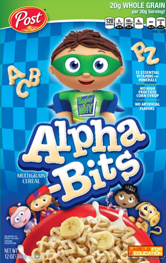 Alpha Bits Cereal Coupons
