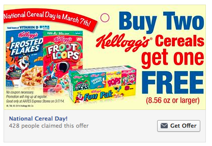 National Cereal Day Kellogg's Facts