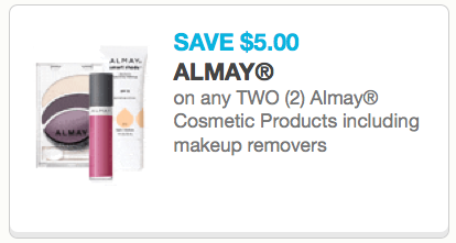 Almay Makeup Cosmetics Coupons