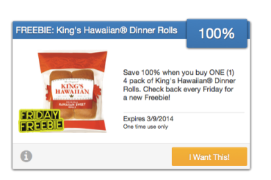 King's Hawaiian Rolls Coupons