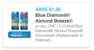 Blue Diamond Almondmilk Coupons