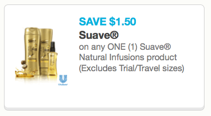 Suave Shampoo Coupons
