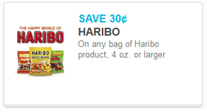 Haribo Gummies Coupons